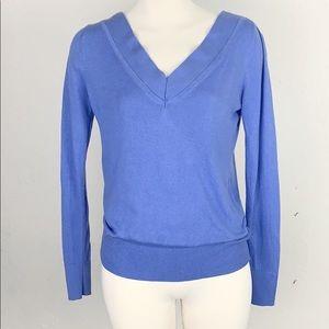 Banana Republic Silk Cashmere Blue Sweater XS